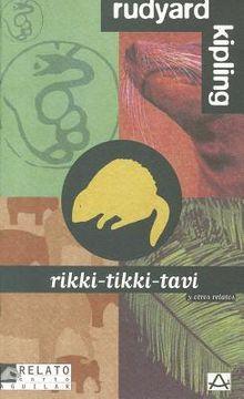 portada Rikki-tikki-tavi (Relato Corto Aguilar)