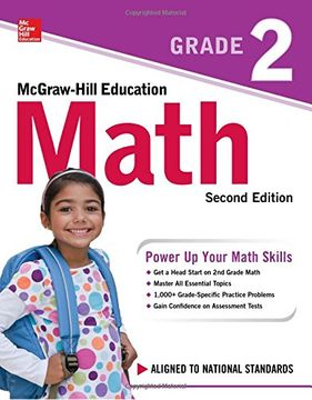 portada McGraw-Hill Education Math Grade 2, Second Edition