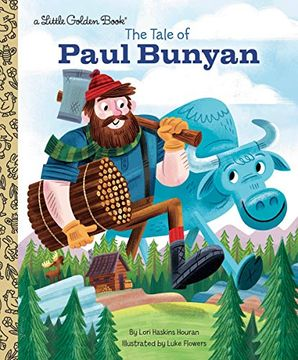 portada The Tale of Paul Bunyan (Little Golden Book) (libro en Inglés)