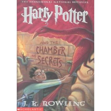 portada Harry Potter and the Chamber of Secrets (libro en inglés)