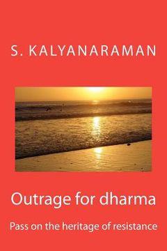 portada outrage for dharma