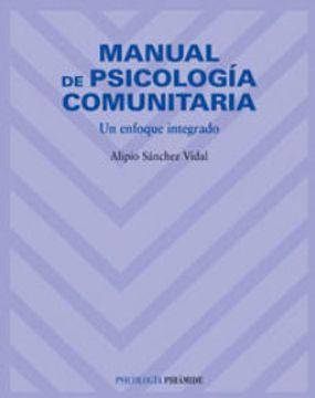 portada Manual de Psicología Comunitaria: Un Enfoque Integrado