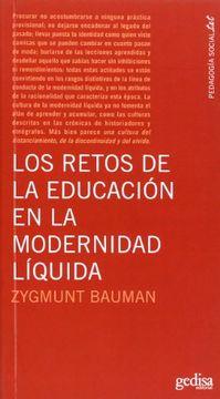 portada Los Retos de la Educación en la Modernidad Líquida
