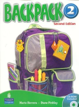 portada Backpack am 2- Student`S With cd rom 2nd Edition **O. St I** (libro en Inglés)