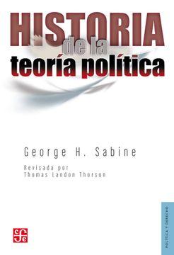 portada Historia de la Teoria Politica