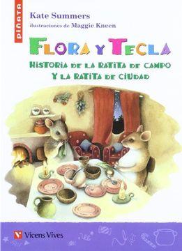 portada Flora Y Tecla (Colección Piñata)