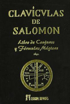 portada Clavículas de Salomón: Libro de Conjuros y Fórmulas Mágicas