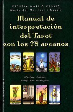 portada Manual de Interpretacion del Tarot con los 78 Arcanos