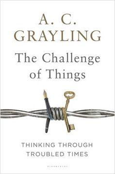portada The Challenge of Things: Thinking Through Troubled Times (libro en Inglés)