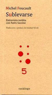 portada Sublevarse. Entrevista Inedita con Fares Sassine