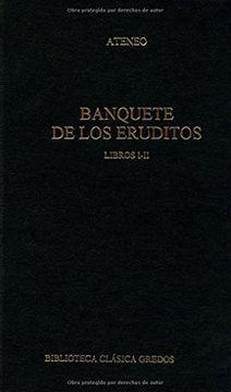 portada Banquete de los Eruditos. Libros I-Ii