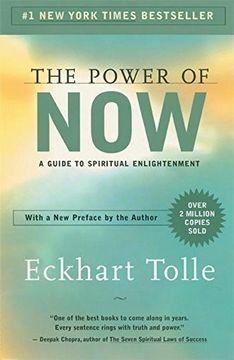 portada The Power of Now: A Guide to Spiritual Enlightenment (libro en Inglés)