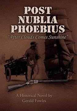 portada Post Nublia Phoebius (libro en Inglés)