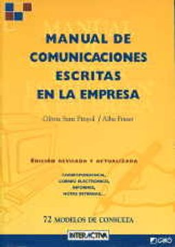 portada Manual De Comunicaciones Escritas En La Empresa: CE1 (Interactiva - Castella)