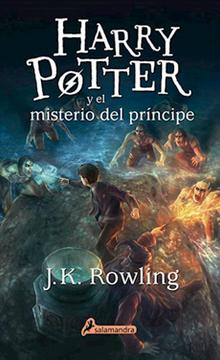 portada Harry Potter  y el Misterio del Principe (6) (libro en Castellano, Isbn: 9788498389142)