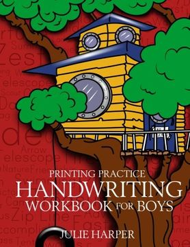 portada Printing Practice Handwriting Workbook for Boys