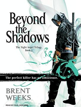 portada Beyond the Shadows (Night Angel) (libro en Inglés) (Audiolibro)
