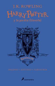 portada Harry Potter y la Piedra Filosofal. Ravenclaw