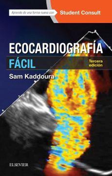 portada Ecocardiografía Fácil + Studentconsult (3ª Ed. )