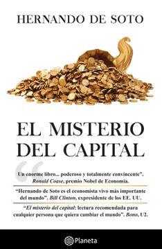 portada El Misterio del Capital