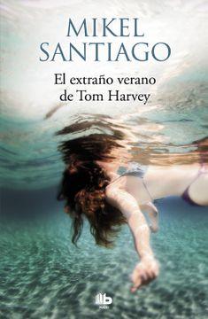 portada El Extraño Verano de tom Harvey