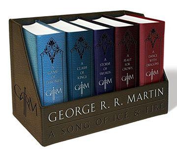 portada George R. R. Martin Boxed Set: A Game of Thrones (libro en Inglés)