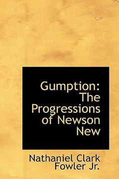 portada gumption: the progressions of newson new