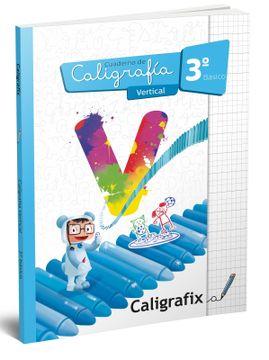 portada Caligrafia Vertical 3º Basico Caligrafix