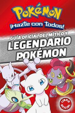 portada Pokemon Guia Oficial del Mitico y Legendario Pokemon