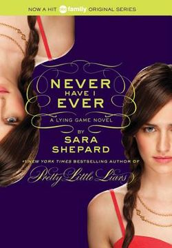 portada the lying game #2: never have i ever