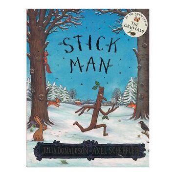 portada Stick man [Paperback] [Jul 07, 2016] Scholastic (libro en Inglés)
