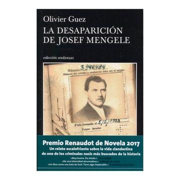 portada La Desaparición de Josef Mengele