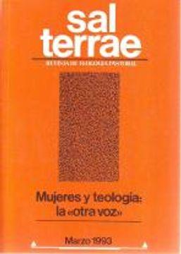 portada Sal Terrae, Revista De Teología Pastoral. Marzo 1993. Tomo 81 / 3 (N. 955)