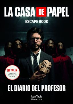 portada La casa de papel. Escape book