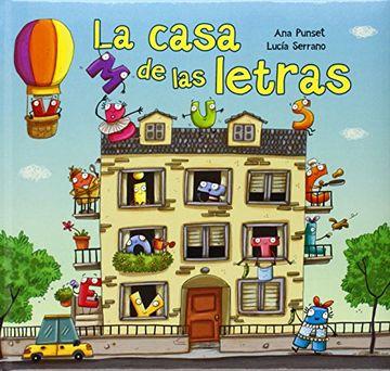portada La Casa De Las Letras (abececuentos)