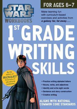 portada Star Wars Workbook: 1st Grade Writing Skills (Star Wars Workbooks)