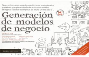 portada Generacion de Modelos de Negocio