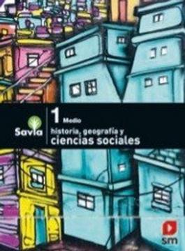 portada Ciencias Sociales 1º Medio (Proyecto Savia) (Sm)