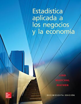 portada Estadistica Aplicada a los Negocios y la Economia