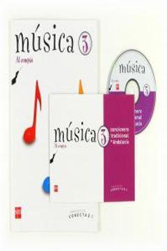 portada Música, Al Compás. 3 Primaria. Conecta 2.0. Andalucía