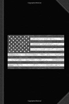 portada Tactical usa Flag Vintage Journal Notebook: Blank Lined Ruled for Writing 6x9 120 Pages (libro en inglés)