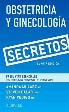 portada Obstetricia y Ginecología. Secretos (4ª Ed. )