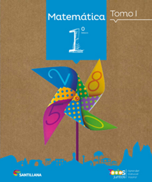 portada Matematica 1º Basico. Todos Juntos (2016) (Santillana)