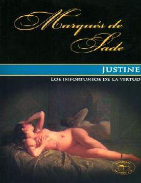 portada Justine o los Infortunios de la Virtud