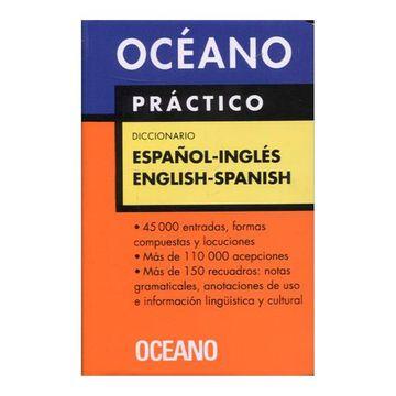 portada Diccionario Oceano Practico Espanol-Ingles