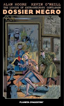 portada The League of Extraordinary Gentlemen Dossier Negro