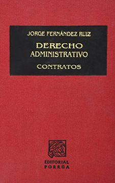 portada derecho administrativo contratos 2/ed