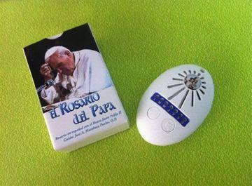 portada El Rosario Electrónico del Papa Juan Pablo ii