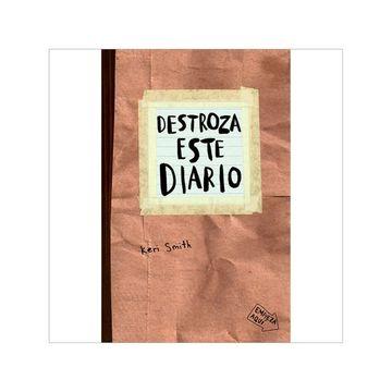 portada Destroza Este Diario - Gris