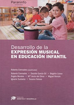 portada Desarrollo de la Expresión Musical en Educación Infantil